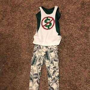 Costumes - Money hip hop costume